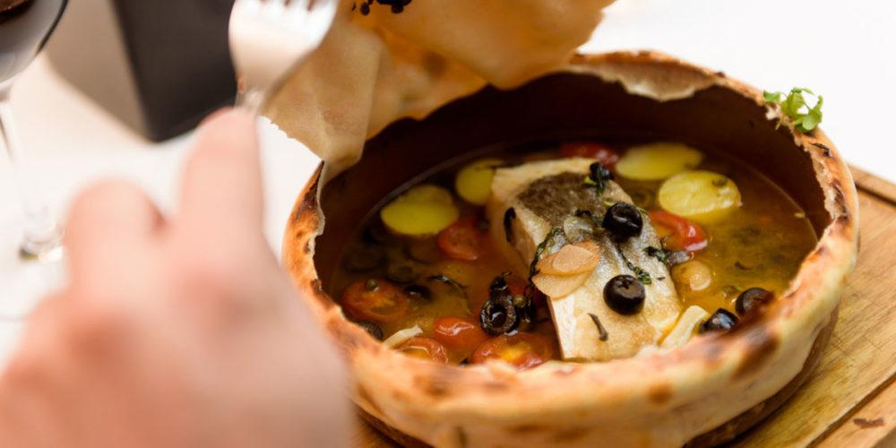Cazuela de lomo de bacalao Mila Restaurante